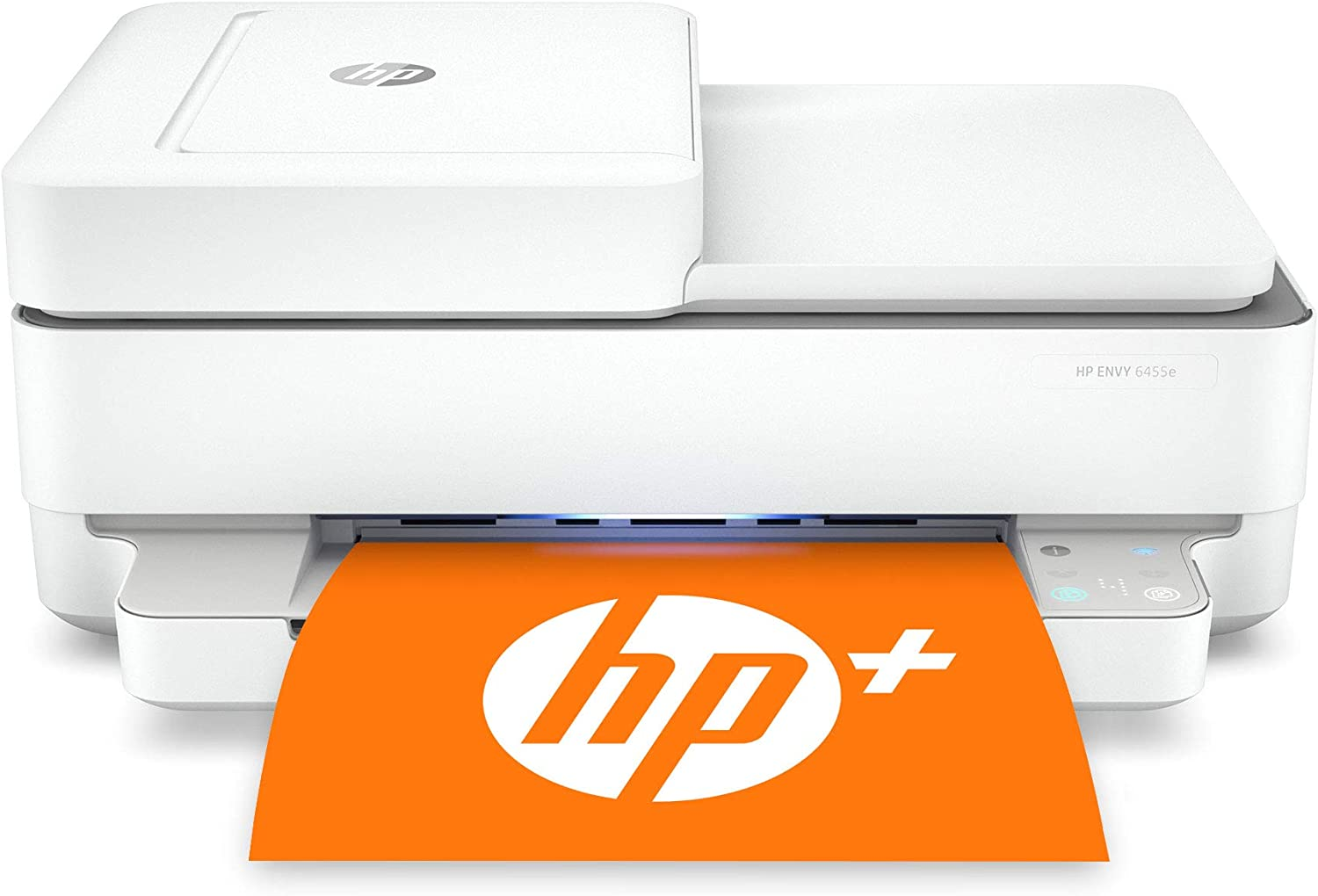 HP ENVY 6455e All-in-One Wireless Color Printer, with bonus 6 months free Instant Ink with HP+ (223R1A)