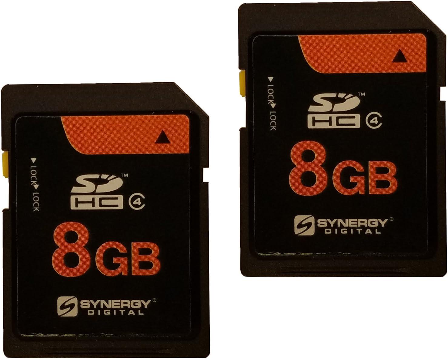 Pentax K-r Digital Camera Memory Card 2 x 8GB Secure Digital High Capacity (SDHC) Memory Cards (2 Pack)