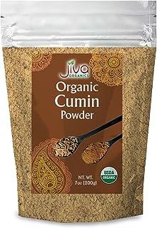 Jiva Organics Organic Ground Cumin Powder 7 ounce - 100% Pure & Non-GMO (Ground Cumin Seeds)
