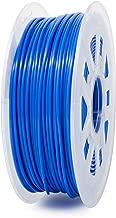 Gizmo Dorks 1.75mm ABS Filament 1kg / 2.2lb for 3D Printers, Fluorescent Blue (UV Light)