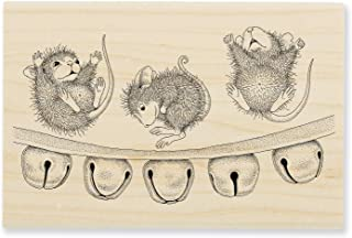 Stampendous HMP112 House Mouse Jingle Jolly Rubber Stamp,