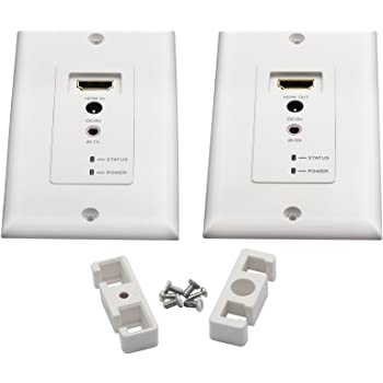 Vanco 280725 HDMI 164-Foot Wall Plate Extender over 2 UTP Cables with IR Control