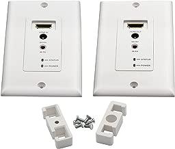 Best hdmi extender wall plate Reviews