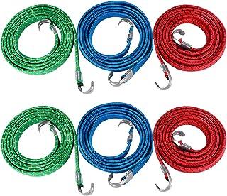 BESPORTBLE 10 peças de corda elástica para bagagem, motociclismo, bandagem, cinto, caixa de embalagem, acessório para equi...