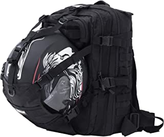 motorcycle helmet backpack
