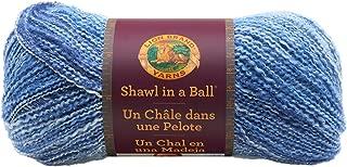 Lion Brand Yarn 828-305 Shawl in a Ball Yarn, One Size, Wind Chimes
