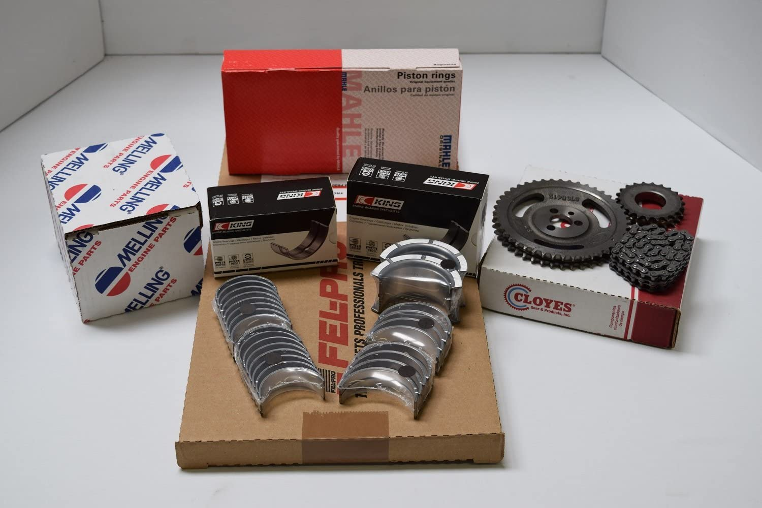Chevy GMC Hummer 6.5 Max 73% OFF Pistons+Rings+Bearings+Timi Engine 6.5L free Kit