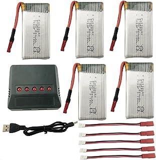 Fytoo Accessoire 5PCS C/âbles de Convertion pour Syma x5hw x5 a-1 x5hc RC Drone C/âble de Charge Quadcopter T/él/écommand/é