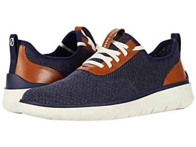 Cole Haan Generation Zerogrand Stitchlite (Marine Blue/Gray Pinstripe/Ch British Tan/Ivory) Men