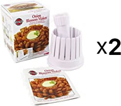 Norpro Blooming Onion Blossom Maker, White, Fry Slicer & Core Remover (2-Pack)
