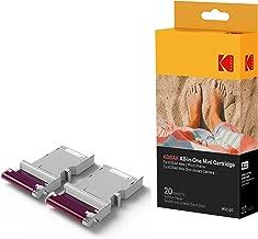 Kodak Mini 2 Photo Printer Cartridge MC All-in-One Paper and Color Ink Cartridge Refill - Compatible with Mini Shot Camera, Mini 2 Printer (Not Original Mini) 20 Pack