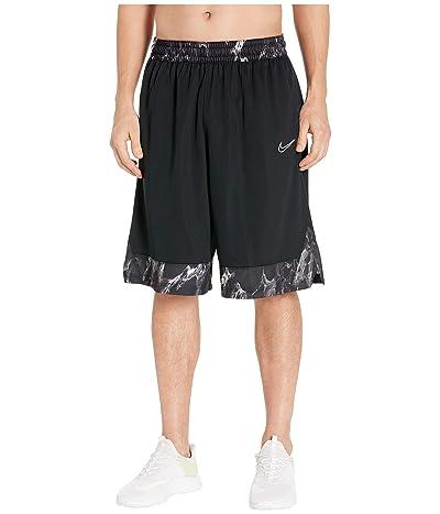 Nike Dri-FIT Icon Shorts (Black/White) Men