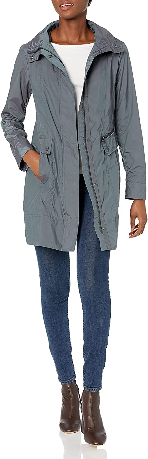Cole Haan Women's Cheap SALE Challenge the lowest price of Japan Start Packable Hooded with Jacket Bow Rain
