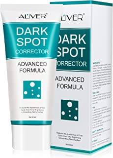 Dark Spot Remover Corrector Cream for Face, Freckle Remover Cream for Body Bikini Area, Underarm Black Spot Fade Cream wit...