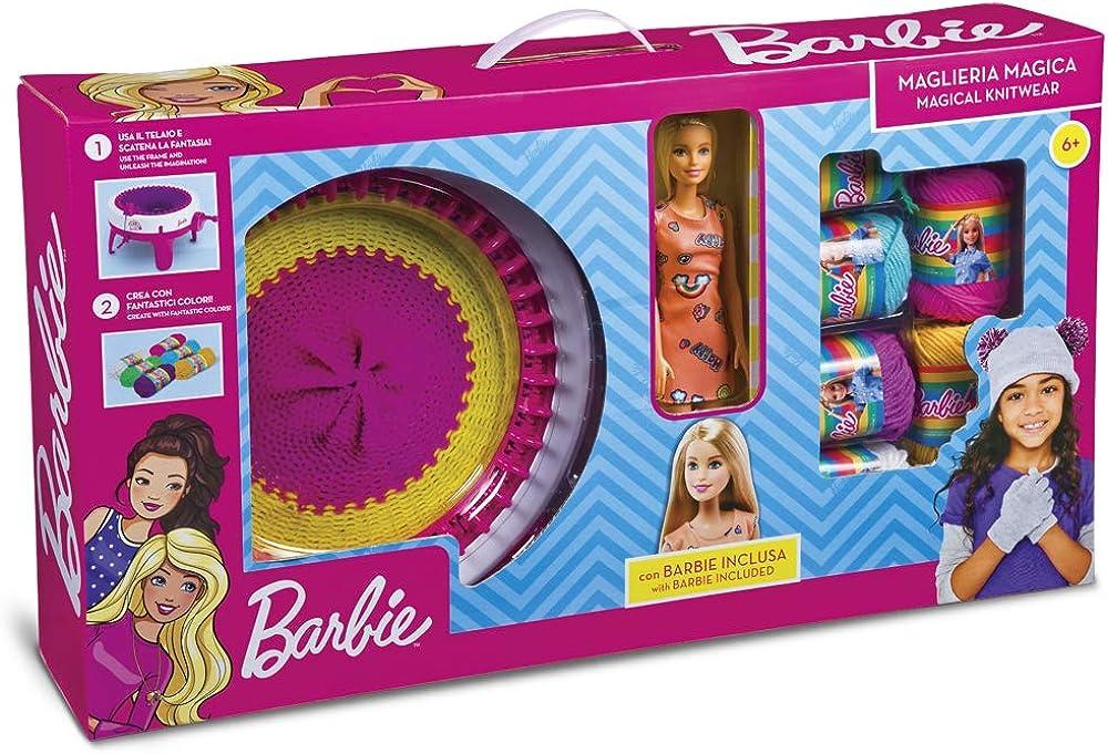 Grandi giochi,maglieria magica con barbie inclusa GG00524