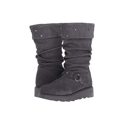 Bearpaw Kids Eureka (Little Kid/Big Kid) (Charcoal) Girls Shoes