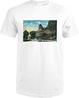 Hot Springs in Paso Robles, CA 2408 (Premium White T-Shirt XX-Large)