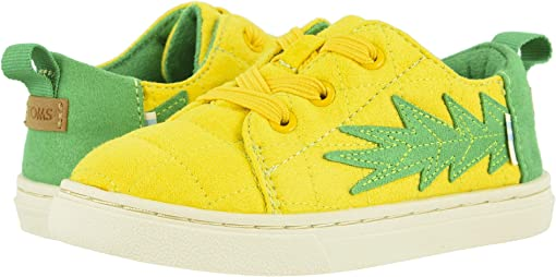 Gold Pineapple Quilted Microsuede