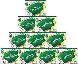 Chandrika Bath Soap Ayurvedic - 75 Grams, 10 Pack