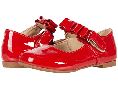 Elephantito Charlotte Mary Jane (Toddler/Little Kid) (Patent Red 1) Girls Shoes