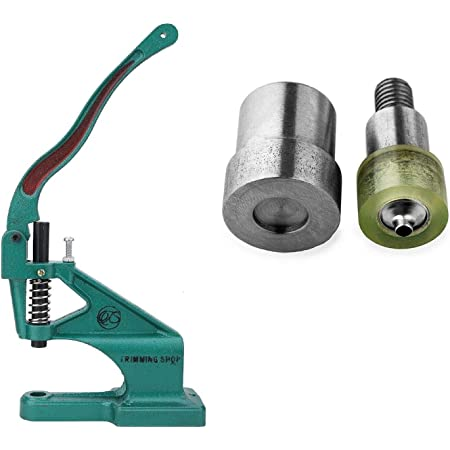 Clothes Leather Crafts Repair Trimming Shop 10mm Snap Poppers Fasteners Press Studs Setting Tool Die Set Kit for/ Kam/ Universal Green Machine for/ Baby Bibs