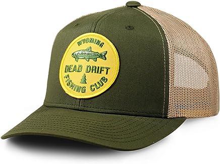 e31a01ea Dead Drift Fly Fishing Hat Fishing Club Snap Back Trucker by Fly