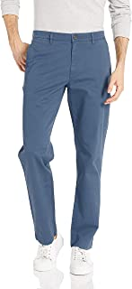Goodthreads Men's Straight-Fit Washed Stretch Chino Pant