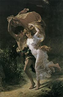Pierre Auguste Cot The Storm Cool Wall Decor Art Print Poster 24x36