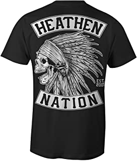 Heathen Black Chief T-Shirt