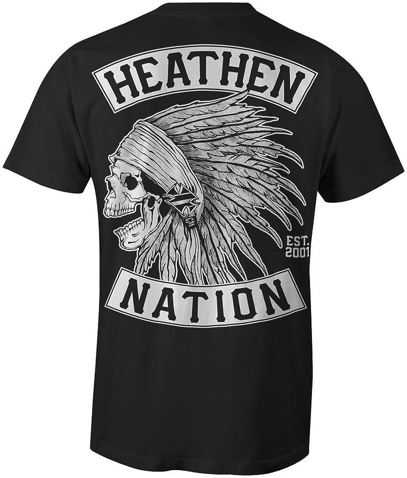 Heathen Black Chief T-Shirt