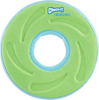 Chuckit Zipflight Floating Frisbee and Steering Wheel Dog Toy, Small (Assorted Color)
