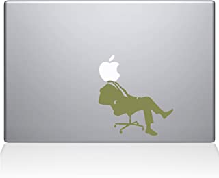 "The Decal Guru 1006-MAC-15X-G Apple CEO Vinyl Sticker, 15"" Macbook Pro (2016 & newer), Gold"