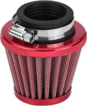 Qiilu 38mm Air Filter Intake Induction Kit for Off-road Motorcycle ATV Quad Dirt Pit Bike (Red)