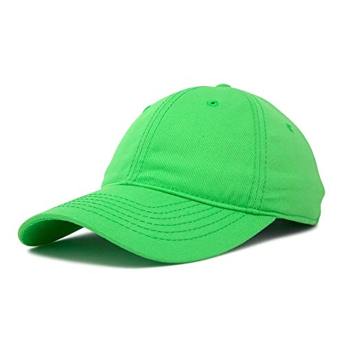 095e9f4a4ad02 DALIX Womens Cap Adjustable Hat 100% Cotton Black White Gold Lavender Blue  Pink Lime Green