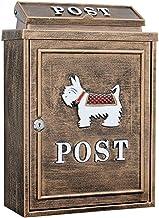 YONGYONGCHONG Brievenbus Outdoor Brievenbus Postbox Muur Waterdichte Doos Dieren Cartoon-stijl Beveiliging Post Compartime...