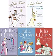 Julia Quinn Bridgerton Family Series 1- 5 Books Collection Set (The Duke And I, The Viscount Who Loved Me, An Offer From A...
