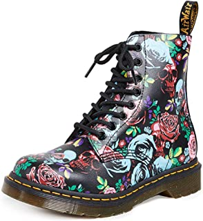 Dr. Martens Womens 1460 Pascal Rose Combat Boot