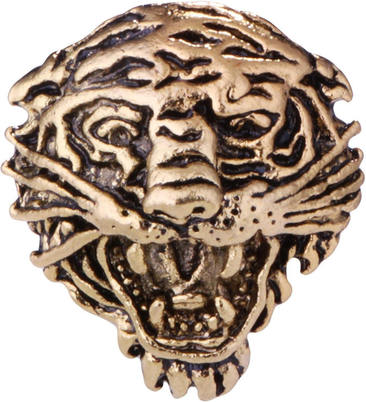 Retro supreme Tiger Animal Brooch Men'S Suit Pin Fashion List price Badge Cl Collar