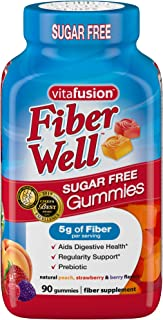 Vitafusion Fiber Well Gummy Vitamins, 90 ct