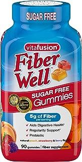 Vitafusion Fiber Well Gummy Vitamins, 90 ct