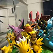 14cm PVC Painted Finished Figure G.E.M.EX Series Pokemon Eevee Friends approx