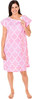 Designer Hospital Patient Gown, 100% Cotton, Hospital Stay