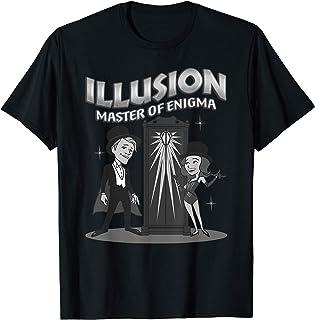 Marvel WandaVision Illusion Master of Enigma Retro T-Shirt