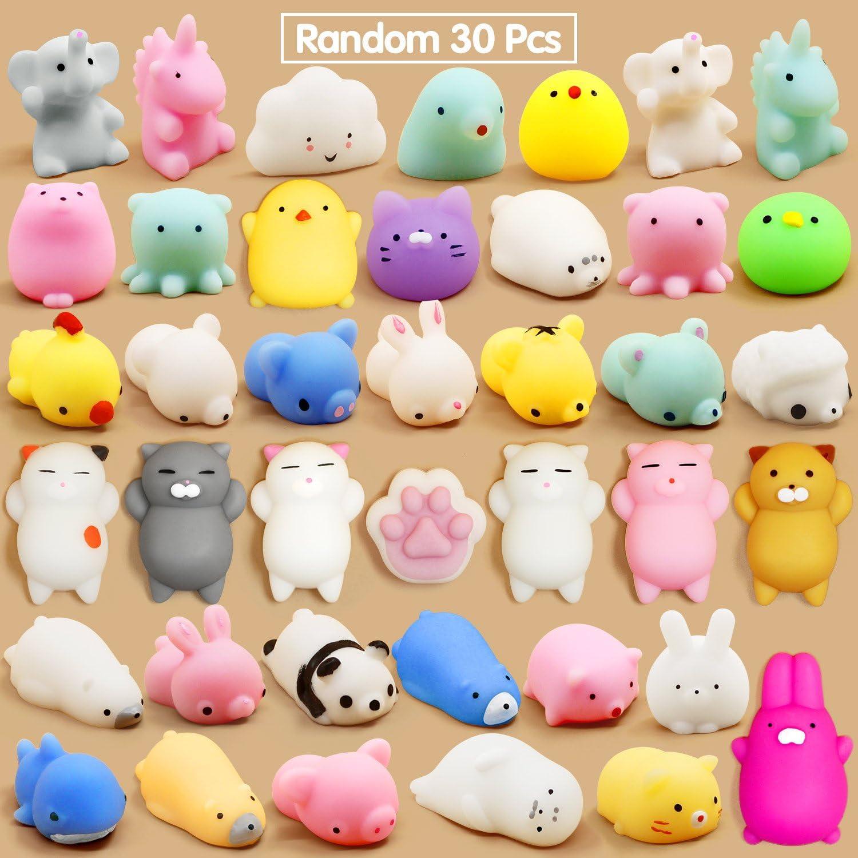 Calans Mochi Squishy Toys 30 Favors Party Mini Pcs Limited time Gorgeous cheap sale for