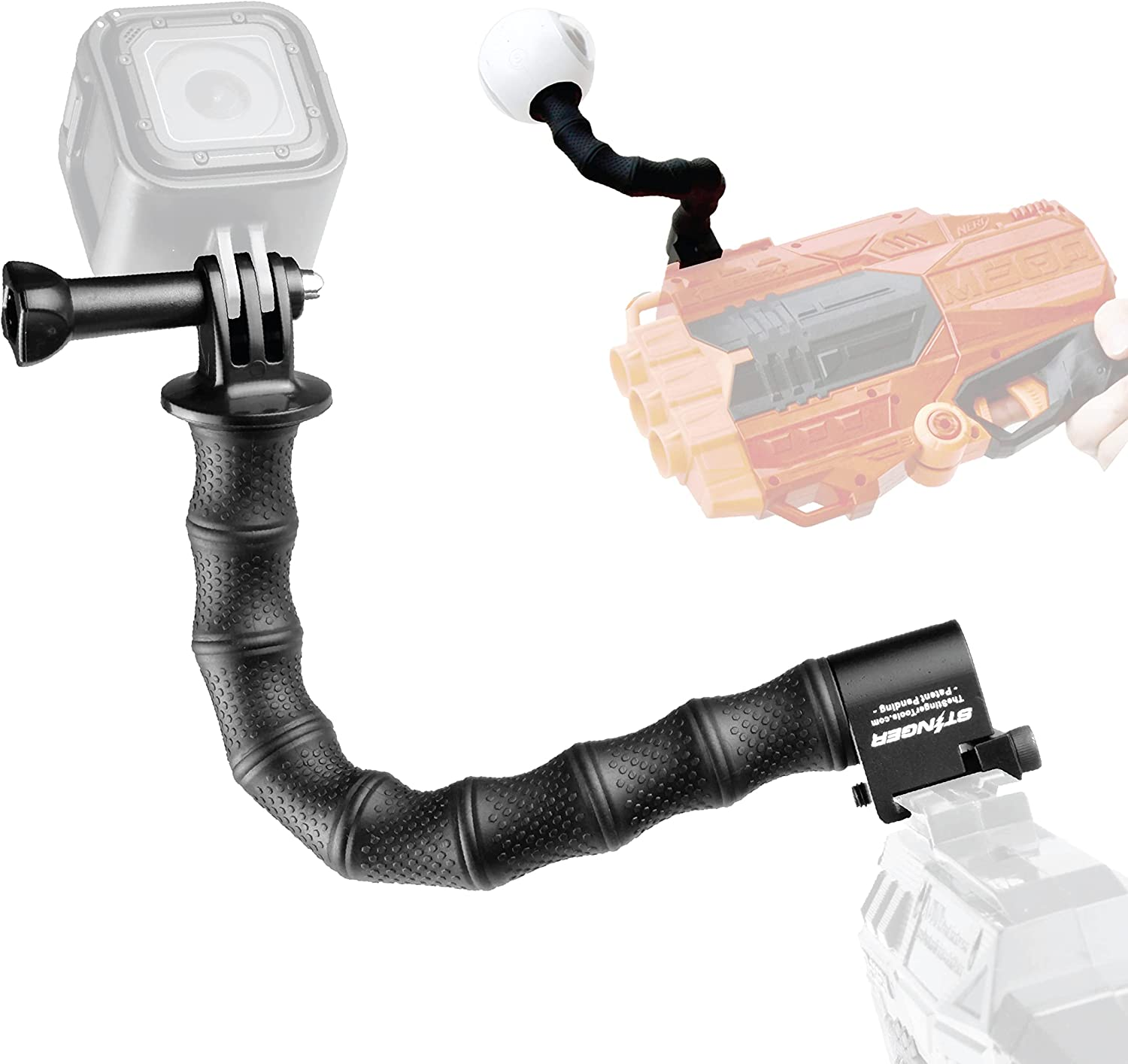 Stinger Python Action Camera Mount Blaster for Rival Sale special price Max 63% OFF Nerf Elise
