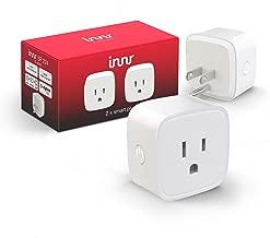 Innr Zigbee Smart Plug, Works with Philips Hue, SmartThings, Alexa, Google Home (Hub Required) SP 224 (2-pack)