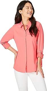 Foxcroft Women's Reese Sun Protection UPF Shirt
