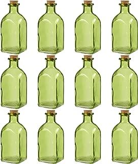 Best small green glass bottle Reviews