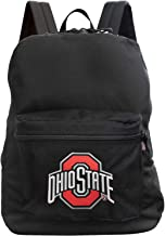 NCAA Made in The USA Premium Backpack, 16-inches, Black