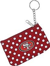 NFL Polka Dot Coin/ID Purse - Zipper Change Pouch